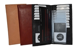 Picture of Checkbook And Credit card holder wallet - All in one